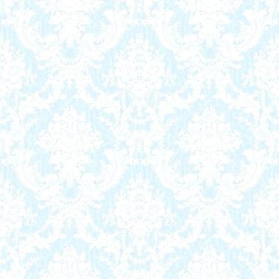 Blue Floral Wallpaper Light Blue Ornate Floral Wallpaper
